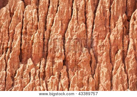 Wall Of Sand Ravine