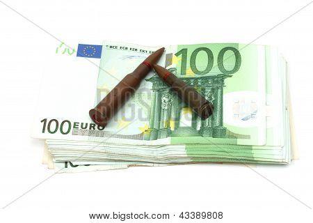 Opsommingstekens en geld