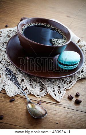 Café con macarrones