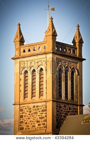 Holy trinity church steeple in Adelaide