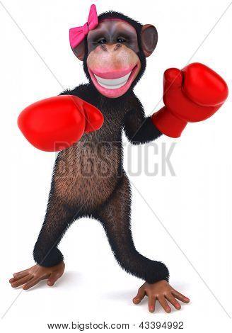Leuk aap