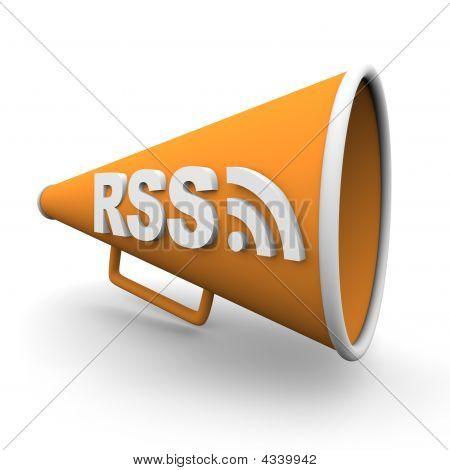 RSS Logo en megáfono