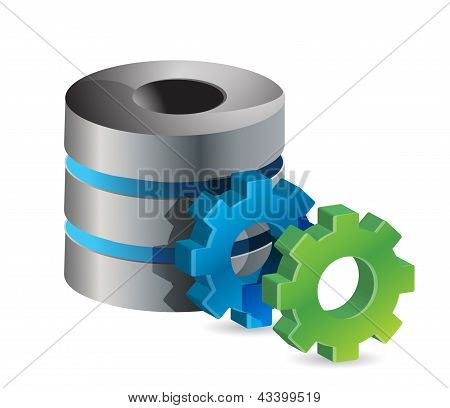 Computer Server And Gears