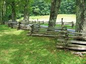 Blue Ridge Parkway Five Rail Fence