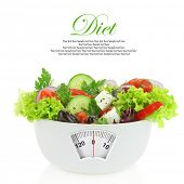 pic of light weight  - Diet meal - JPG