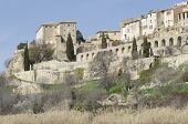 Lauris perched village in Vaucluse, Provence