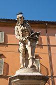 pic of luigi  - Luigi Galvani statue in Bologna Italy - JPG