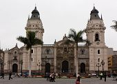 Cathedral Of St. John The Apostle And Evangelist, Lima Peru