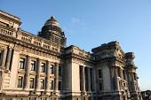 foto of neoclassical  - Monumental architecture landmark in Brussels Belgium - JPG