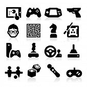 stock photo of geek  - Entertaining Icons - JPG