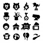 pic of crazy hat  - Circus Icons - JPG