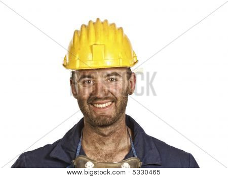 Heavy Industry Worker Portrait