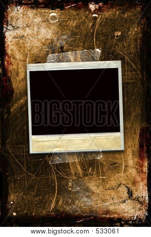 Grunge Instant photo Instant Picture