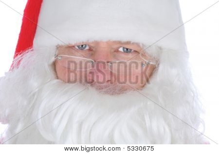 Santa Claus Close Up