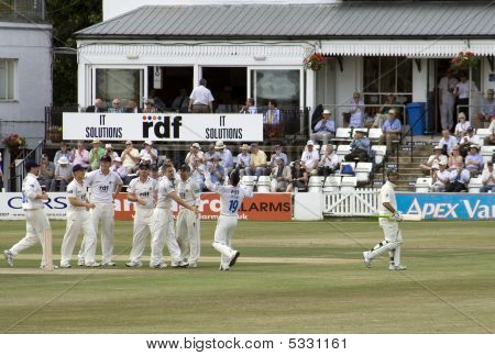 Ponting Out - Sussex Celebrate