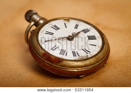 Close-up Pocket Watch