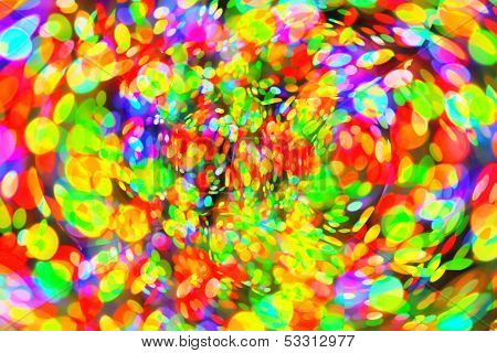 Abstract Bright  Bokeh Background