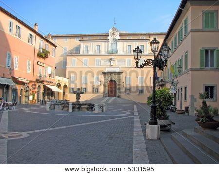Castel Gandolfo's  Popes Summer Residence