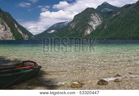 Konigsee National Park in summer Germany