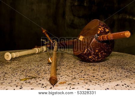 Still Life - Thai Musical Instrument