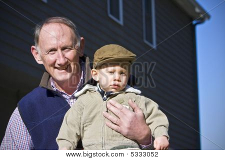 Happy Grandfather