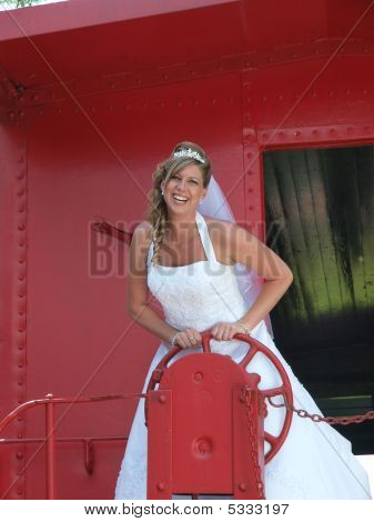 Bride On A Train
