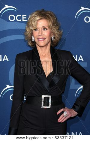 LOS ANGELES - OCT 30:  Jane Fonda at the Oceana's Partners Awards Gala 2013 at Beverly Wilshire Hotel on October 30, 2013 in Beverly Hills, CA