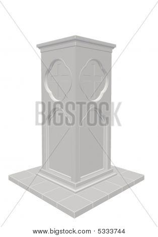 Pedestal Column