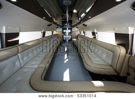 Luxury Party Car Interior