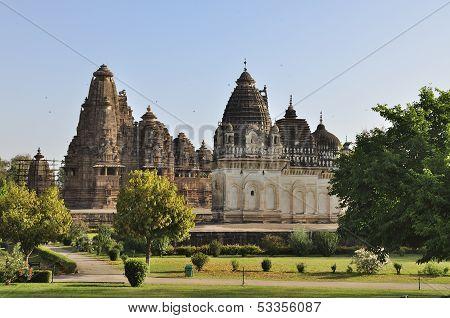 Western Temples Of Khajuraho. Unesco World Heritage Site.