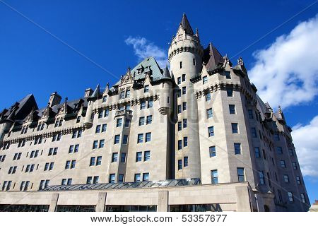 Hotel Vancouver Historic Heritage Old Building British Columbia Canada