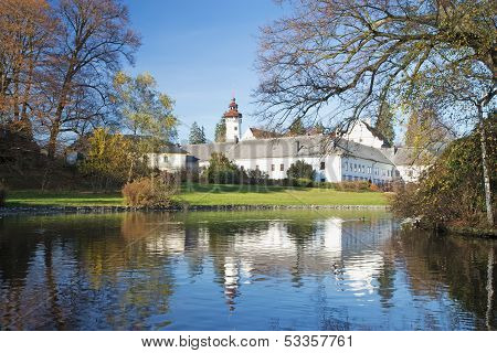 Castle Velke Losiny (czech Republic)