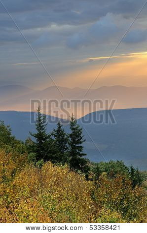 Mountain Autumn Sunrise
