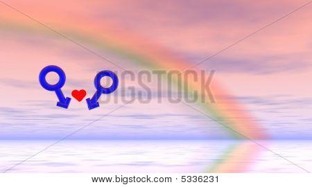Schwule Liebe