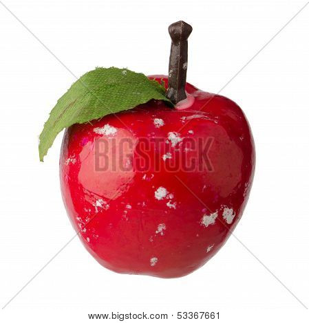 Christmas Red Apple Decoration