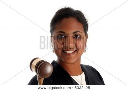 Woman Judge