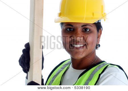 Woman Construction Worker