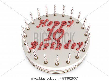 Cream Pie For 10Th Birthday