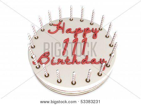 Cream Pie For Th 111Th Birthday