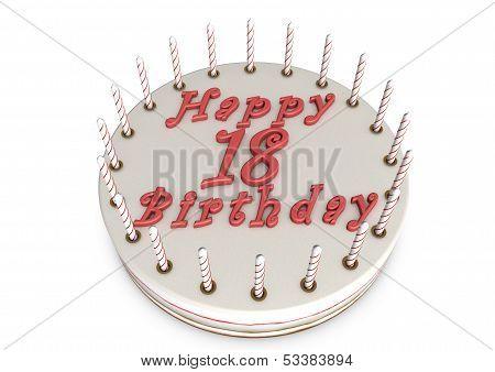 Cream Pie For 18Th Birthday