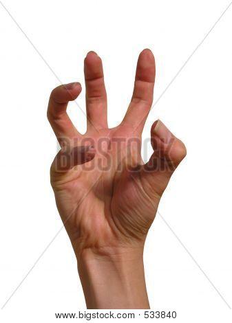 Terrified Hand