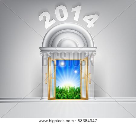 New Year Hope Door Concept 2014