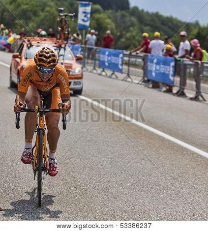 The Cyclist Juan Jose Lobato Del Valle