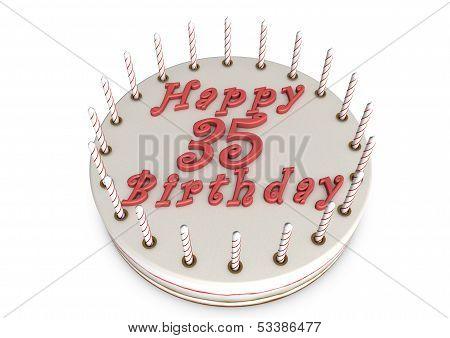 Cream Pie For 35Th Birthday