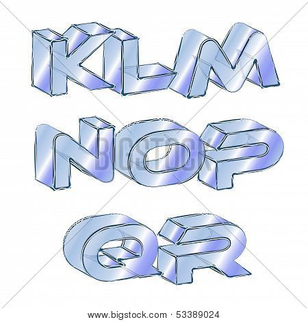 Icy Font