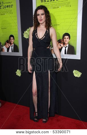 LOS ANGELES - SEP 10:  Rumer Willis arrives to the