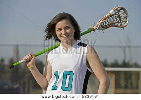 Girls Lacrosse Player