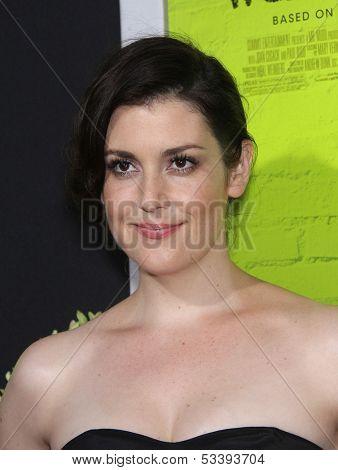 LOS ANGELES - SEP 10:  Melanie Lynskey arrives to the