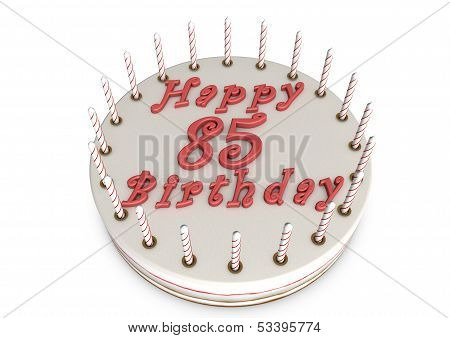 Cream Pie For 85Th Birthday