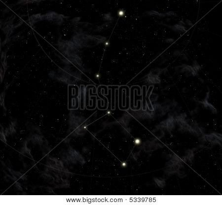 Constellation Of The Little Dipper